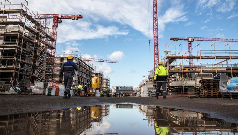 Baustelle in Hattersheim: Viele Unternehmen sehen sich in ihrer Existenz bedroht