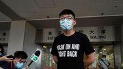 Joshua Wong bleibt vorerst frei