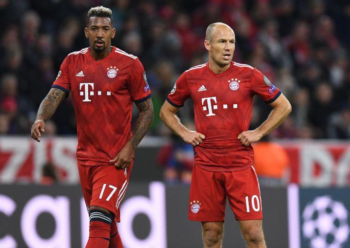 Jérôme Boateng, Arjen Robben
