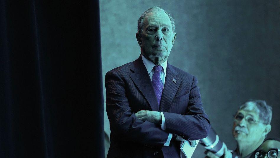 Wahlkämpfer Bloomberg: »Ich habe die Erfahrung, die Mittel und die Erfolge«