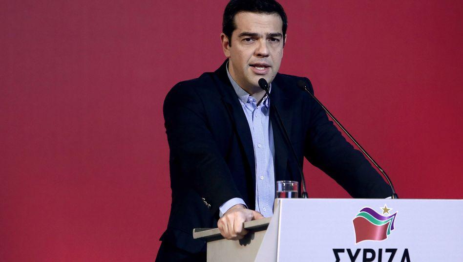 Griechenlands Premier Alexis Tsipras: Zugriff auf Sozialkassen ermöglichen