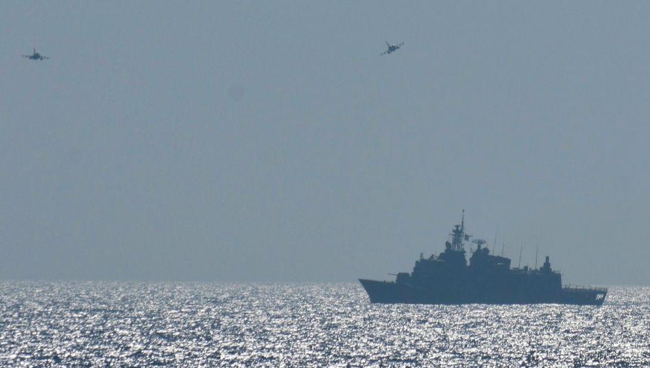 Streit um Gas und Einfluss: Griechische Militärübung in der Ägäis