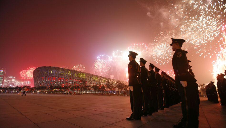 Eröffnungszeremonie der olympischen Sommerspiele 2008 von Peking