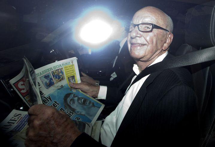 Medien-Tycoon Murdoch (2014): Im Visier der Labour-Politik