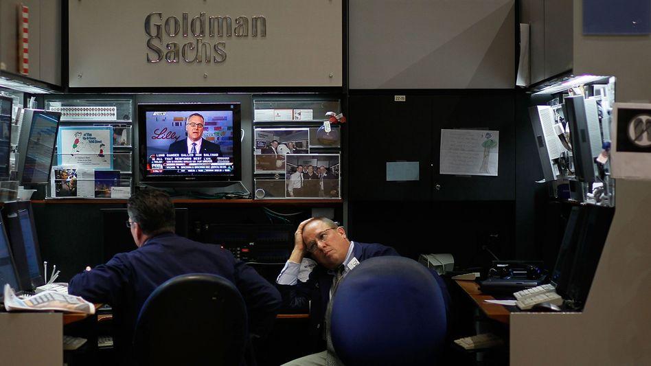 Goldman-Mitarbeiter an der New Yorker Börse (Archivbild): »Mein Körper schmerzt ständig«