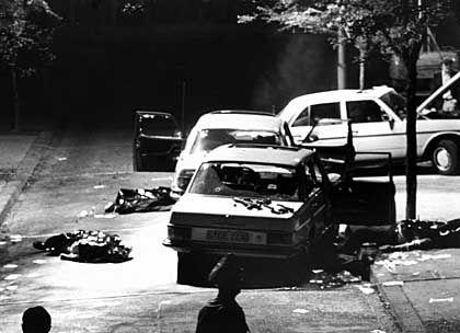Schleyer-Entführung 1977: Drei Polizisten und der Fahrer wurden erschossen