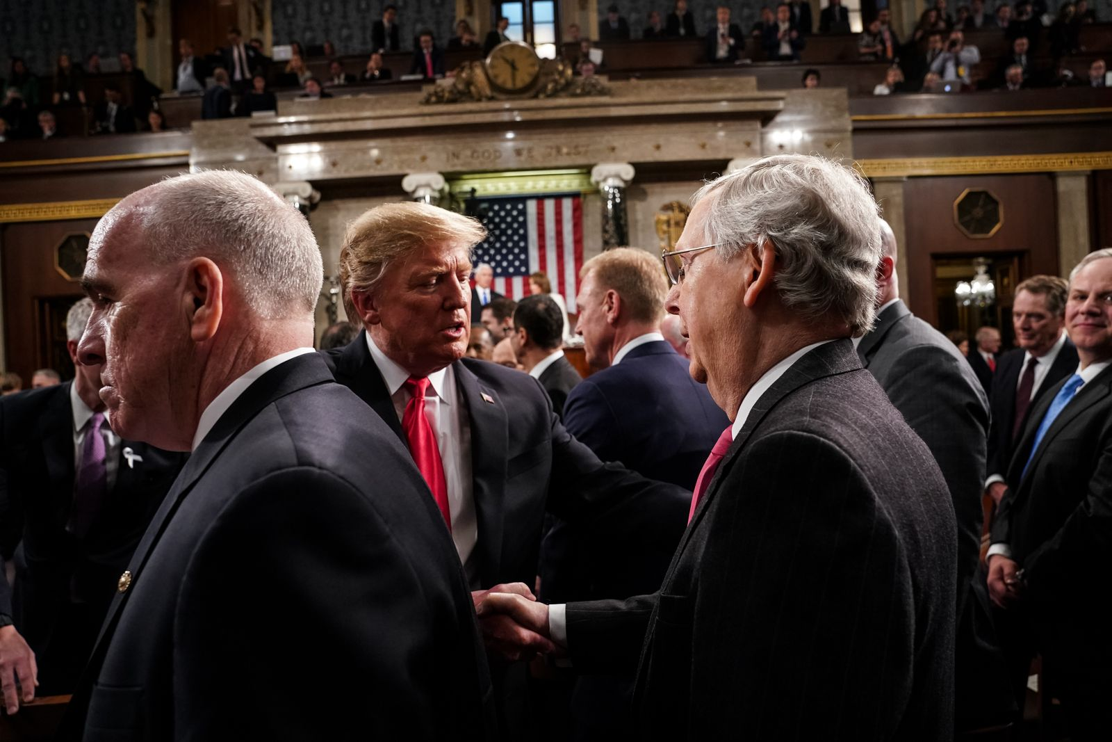 President Trump Delivers State Of The Union Address To Joint Session Of Congress