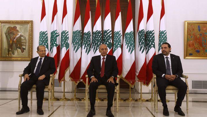 Saad Hariri zurück im Libanon: Rücktritt vom Rücktritt