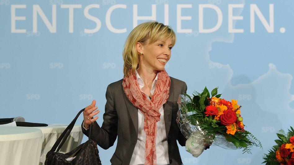 Doris Schröder-Köpf streitet für die SPD um einen Platz im niedersächsischen Landtag
