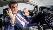 Söder will Verbot für Verbrenner-Autos ab 2035