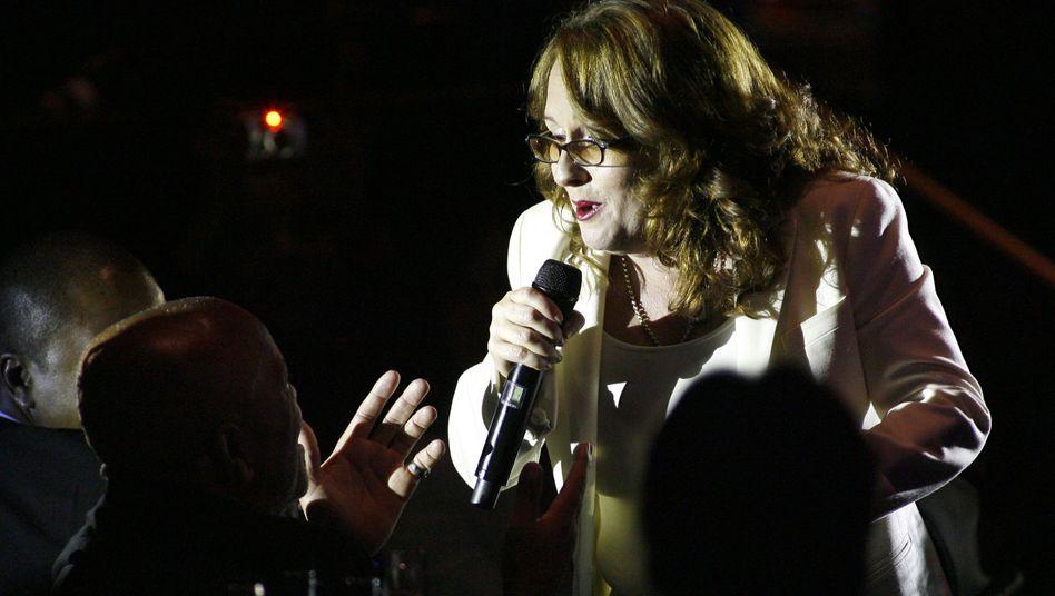 R'n'B-Sängerin Teena Marie bei einem Konzert in Beverly Hills, 2008