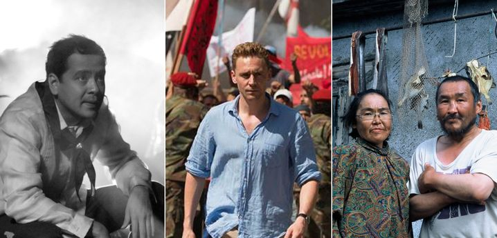"""Von links: """"Hele Sa Hiwagang Hapis"""", """"The Night Manager"""", """"Chamissos Schatten"""""""