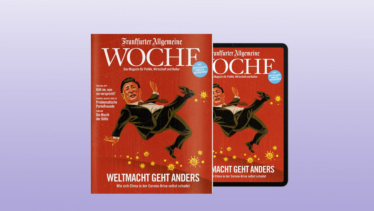 """Magazinmarkt: Die """"Frankfurter Allgemeine Woche"""" wird eingestellt"""