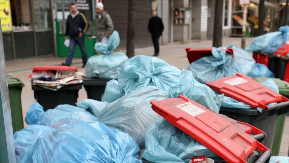 Müll in Hamburg-St. Georg (Archivbild)