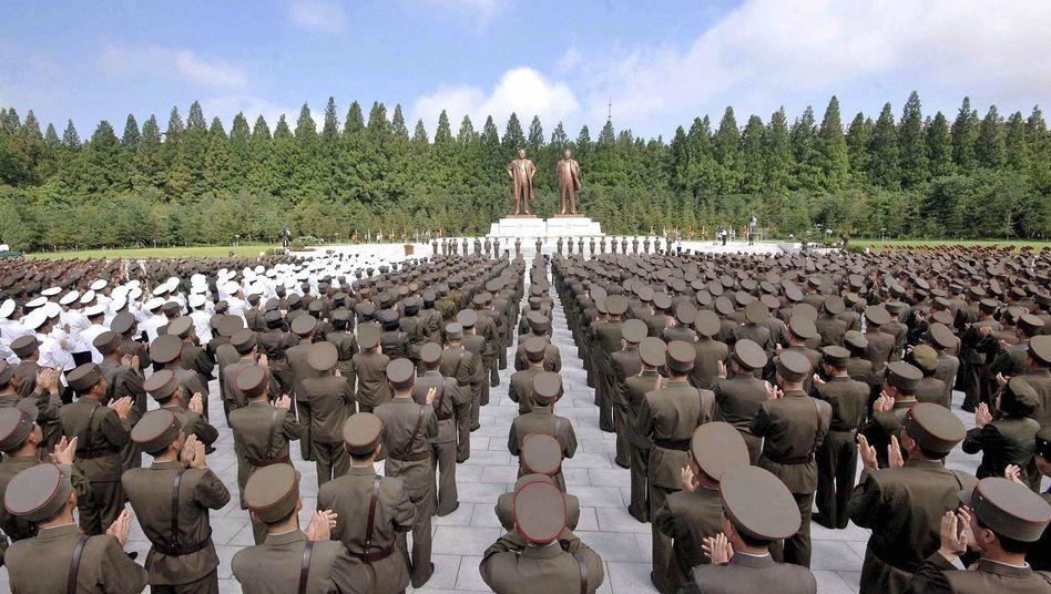 Nordkoreanische Soldaten: Angeblich hat das kommunistische Land eine ganze Cyber-Armee