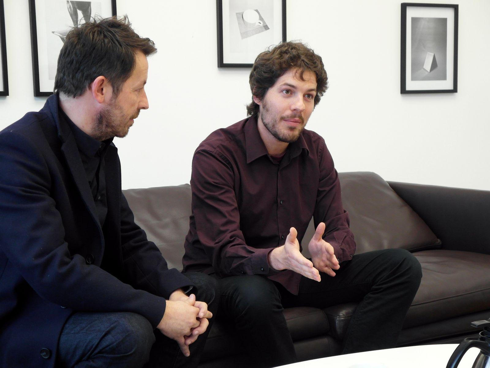 EINMALIGE VERWENDUNG Interview/ Daniel Häni/ Philip Kovce