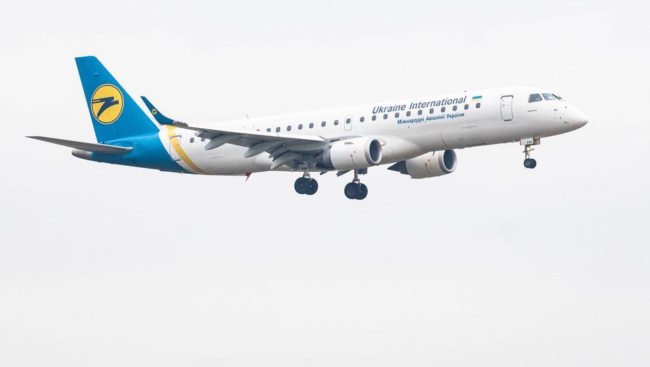 Flugzeug der Ukraine International Airlines (Archivbild)