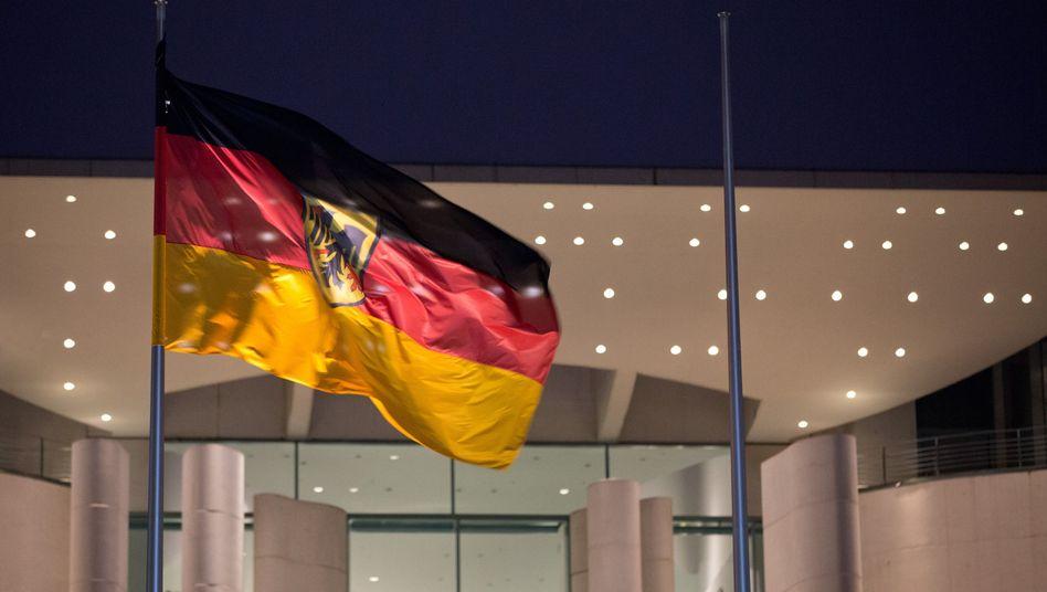 Merkel met with government leaders in Berlin on Sunday night.