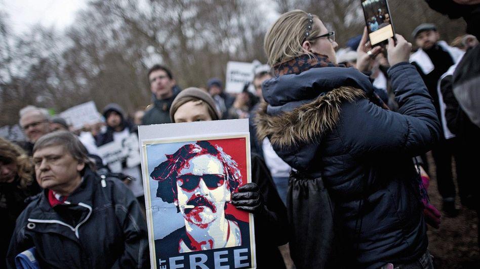 »Free Deniz«-Demonstration in Berlin: Je schärfer die Tonlage, desto geringer die Chancen