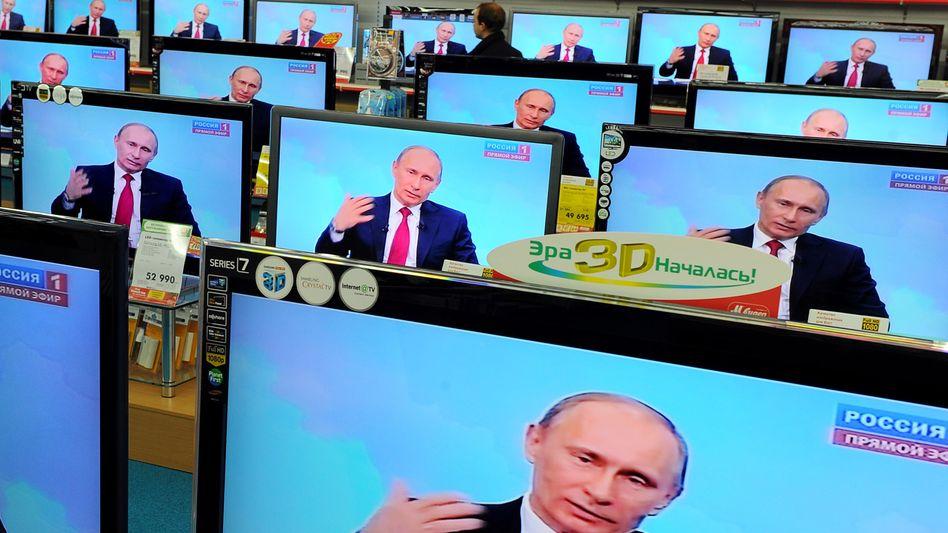 """Russischer Regierungschef Putin in TV-Show: """"Jeder Dieb muss ins Gefängnis"""""""