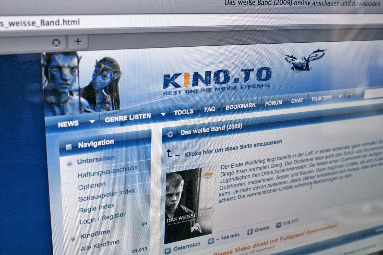 EINMALIGE VERWENDUNG SCREENSHOT Kino.to / NETZWELT