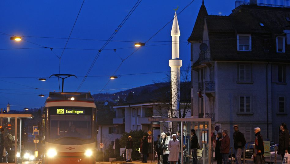 The Mahmud Mosque in Zurich has one of only four minarets in Switzerland. No more will be built following Sunday's referendum.