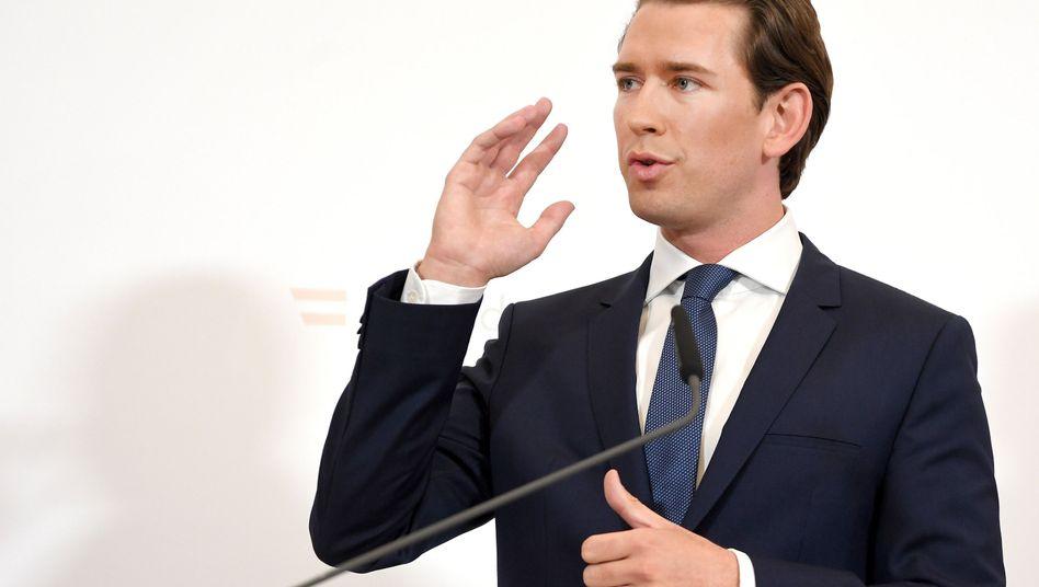 """Österreichs Bundeskanzler Sebastian Kurz: Neuwahlen """"zum schnellstmöglichen Zeitpunkt"""""""