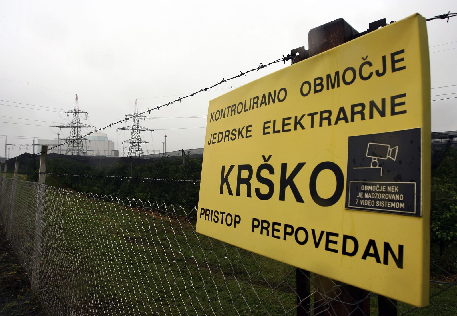 Krsko / AKW / Slowenien