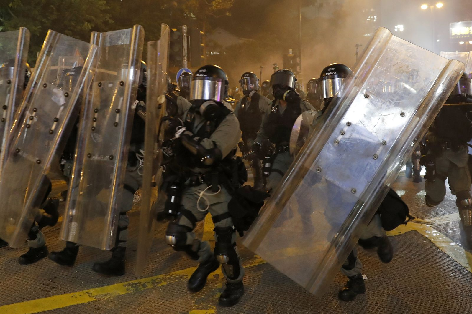 Demonstrationen in Hongkong