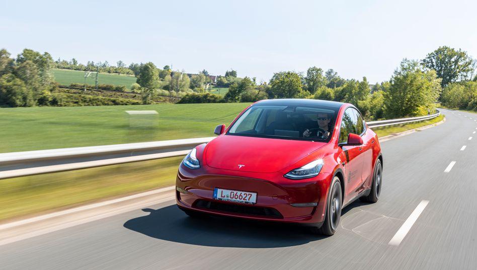 Das Tesla Model Y soll der Verkaufsschlager des US-Elektrobauers werden