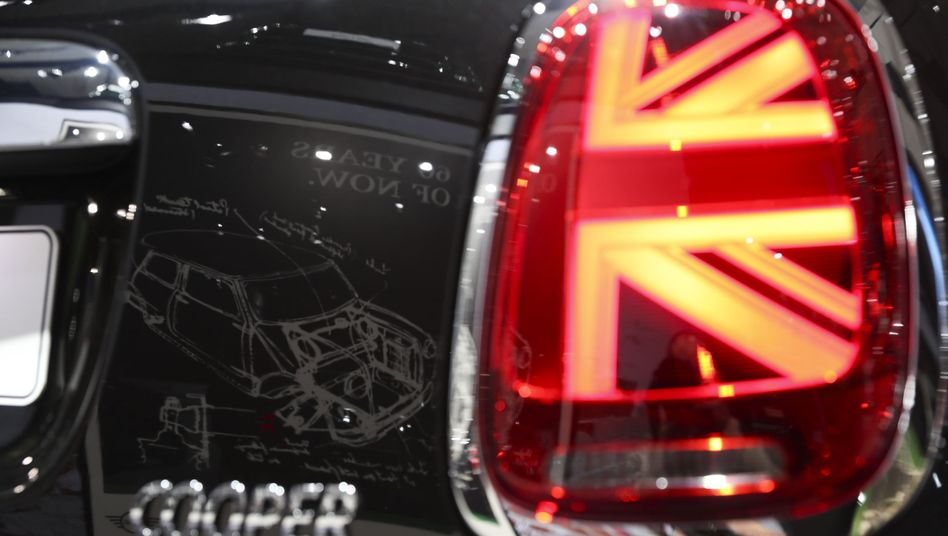 Many parts for the Mini come from Continental Europe.