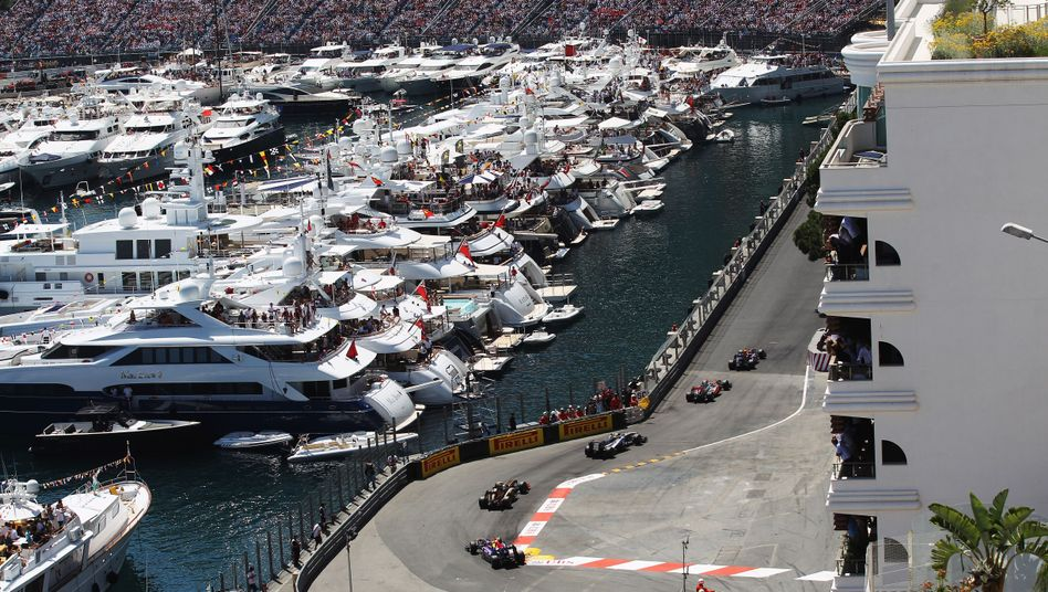 Formel-1-Rennen in Monte Carlo: Hier sollen bald auch elektrische Rennwagen fahren