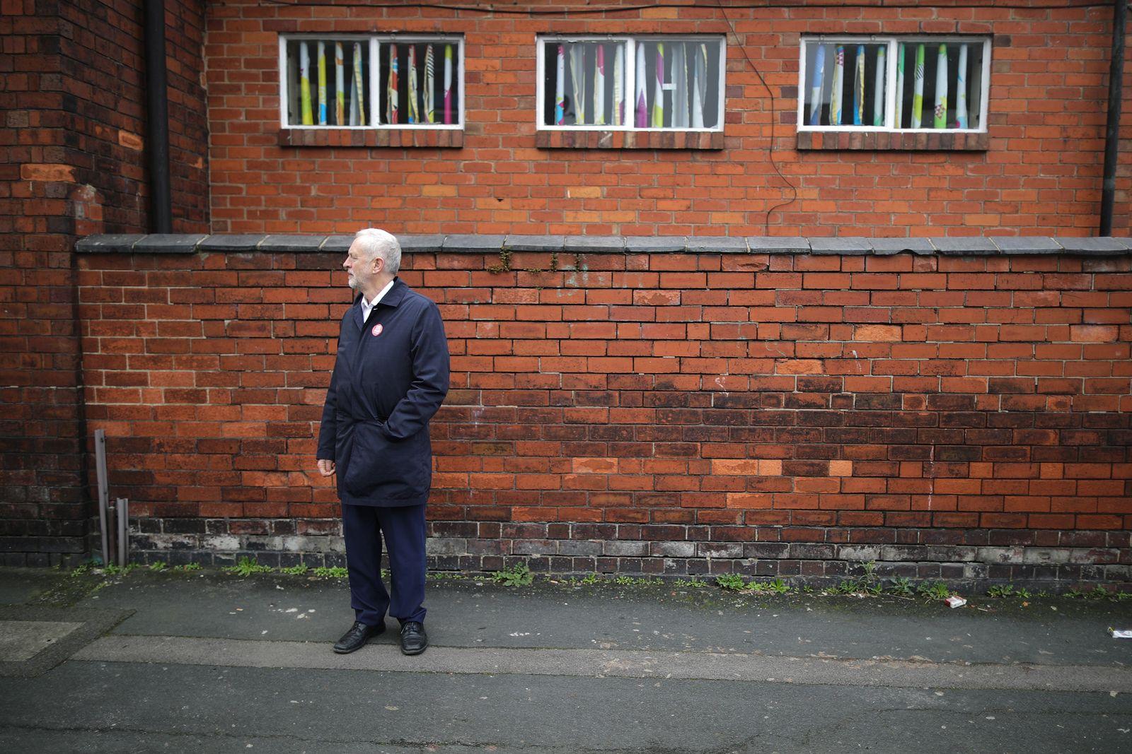 Corbyn in Stoke