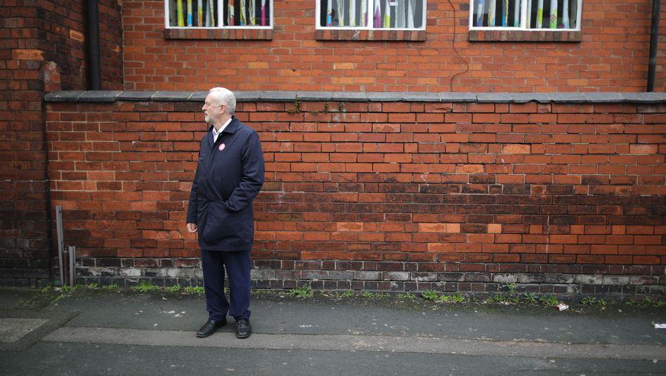 Parteichef Corbyn in Stoke