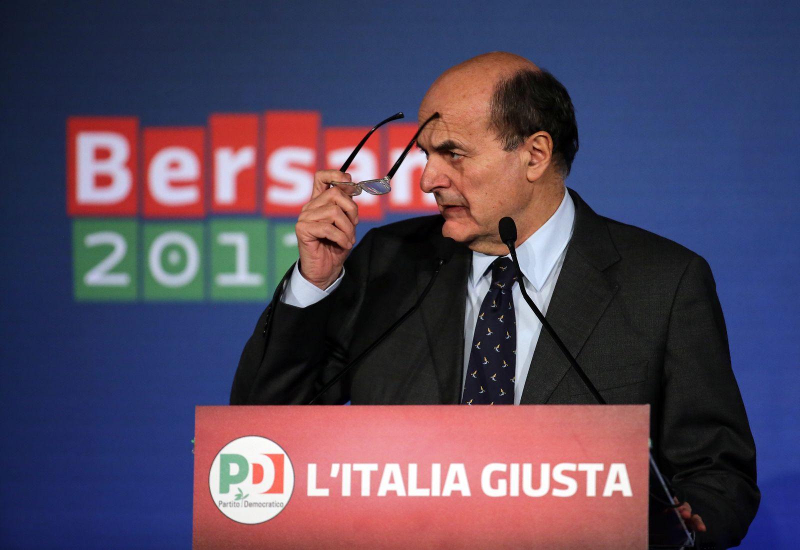 Wahl Italien/ Bersani