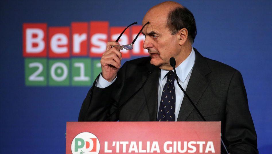 """Sozialdemokrat Bersani: """"Die Idee einer großen Koalition existiert nicht"""""""