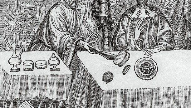 Krönungsmahl von Karl IV. 1349