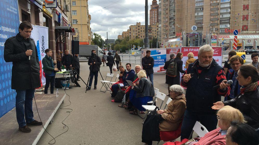 Duma-Wahl in Russland: Gudkows Kampf ums Direktmandat