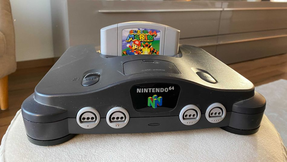 Nintendo 64: Die Konsole war Ende der Neunzigerjahre sehr beliebt