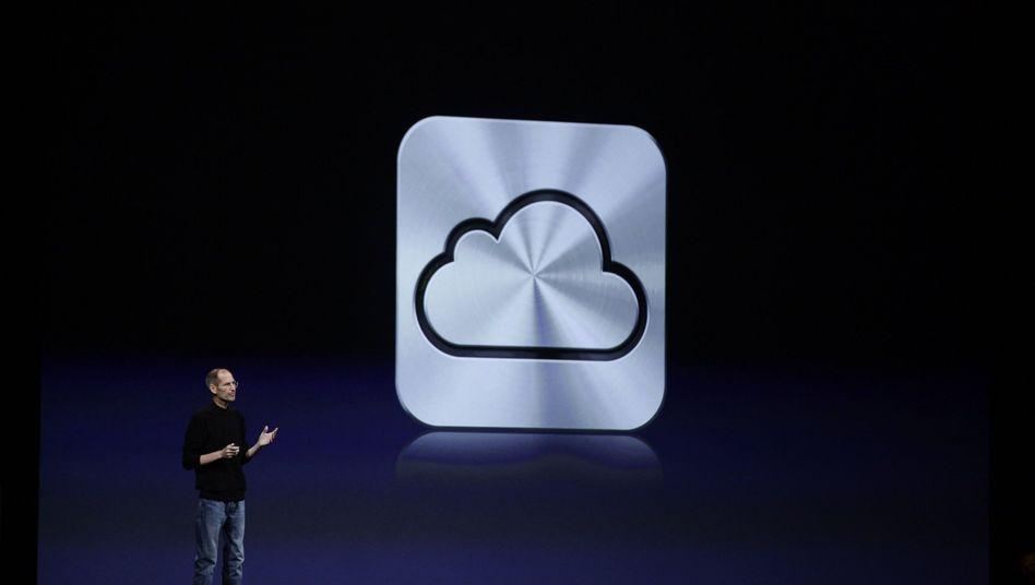 iCloud-Symbol: Apple, Amazon, Spotify hoffen auf Quasi-Monopole in der Cloud