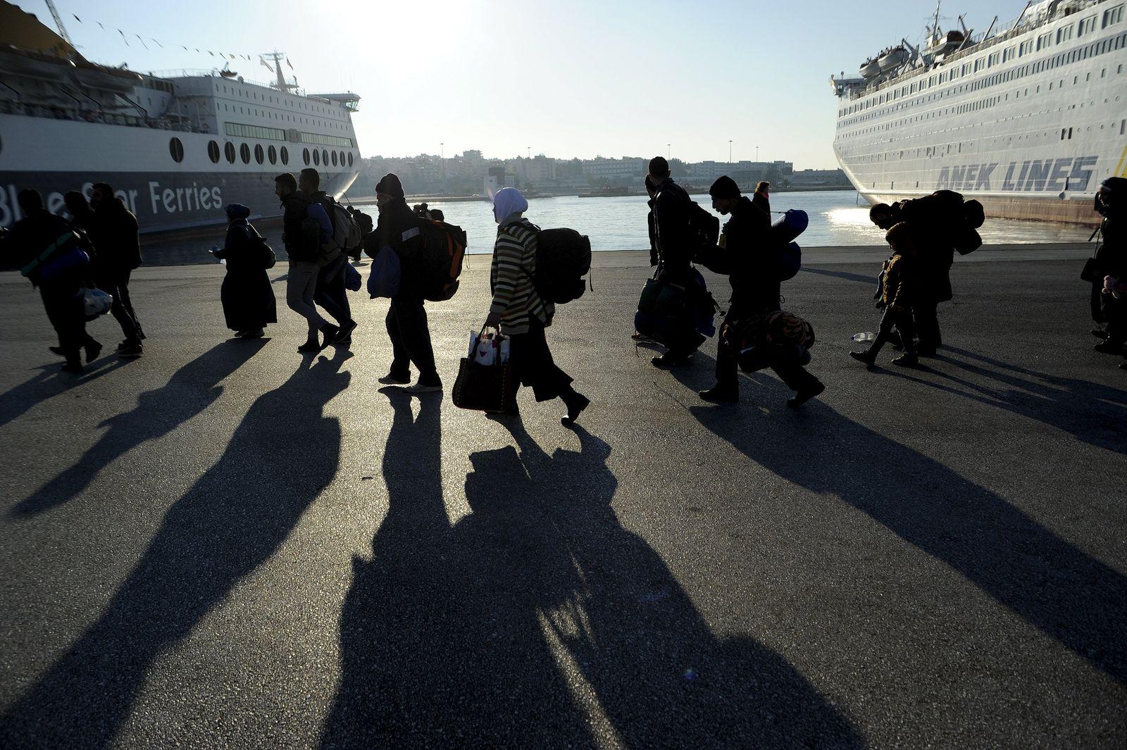 EUROPE-MIGRANTS/GREECE Flüchtlinge Griechenland