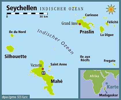 Inselgruppe zwischen Afrika und Asien: Die Seychellen gelten als Überbleibsel des Urkontinents Gondwana