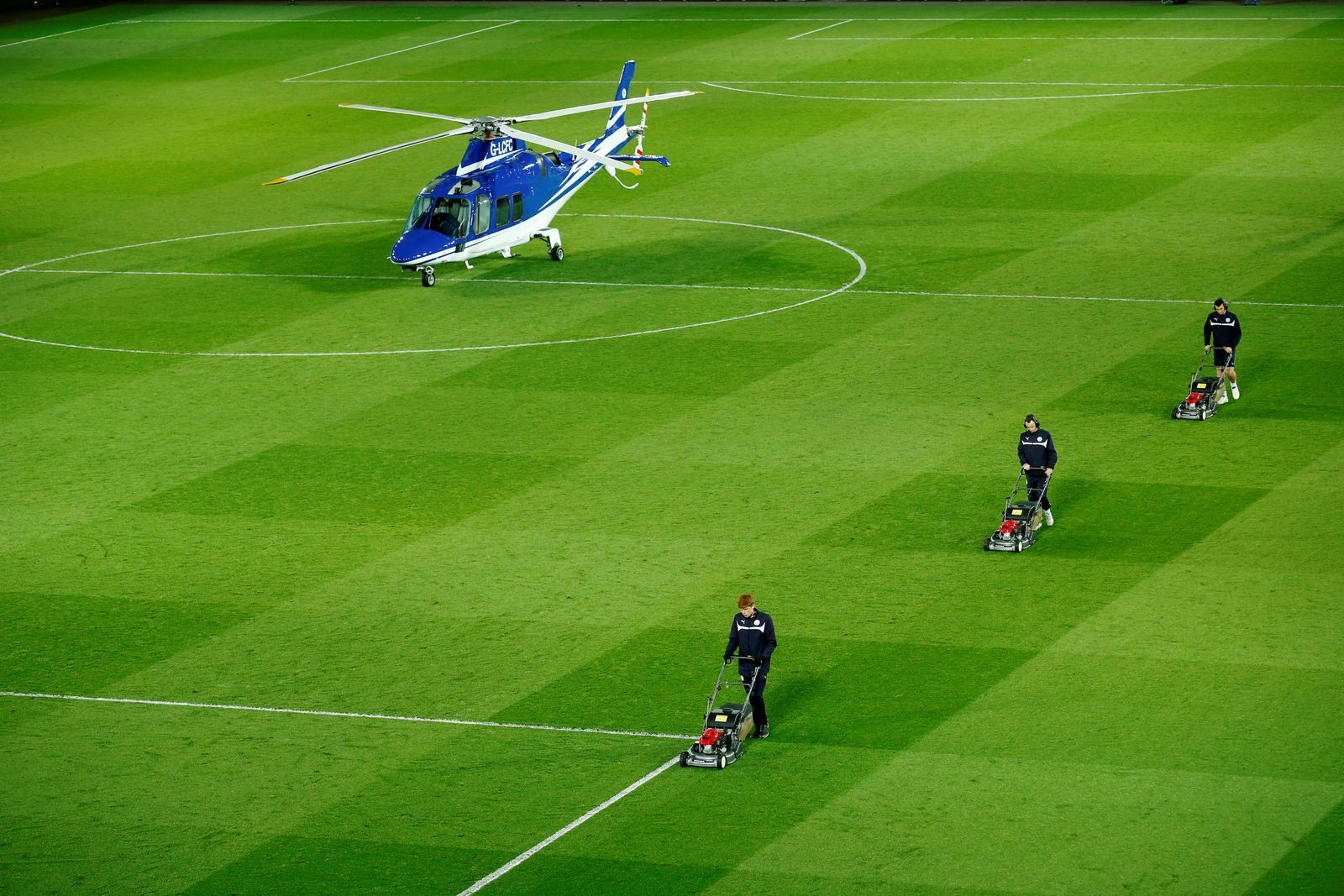 Leicester Helikopter