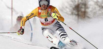 Skiläuferin Riesch: Zu Gold im Slalom gewedelt