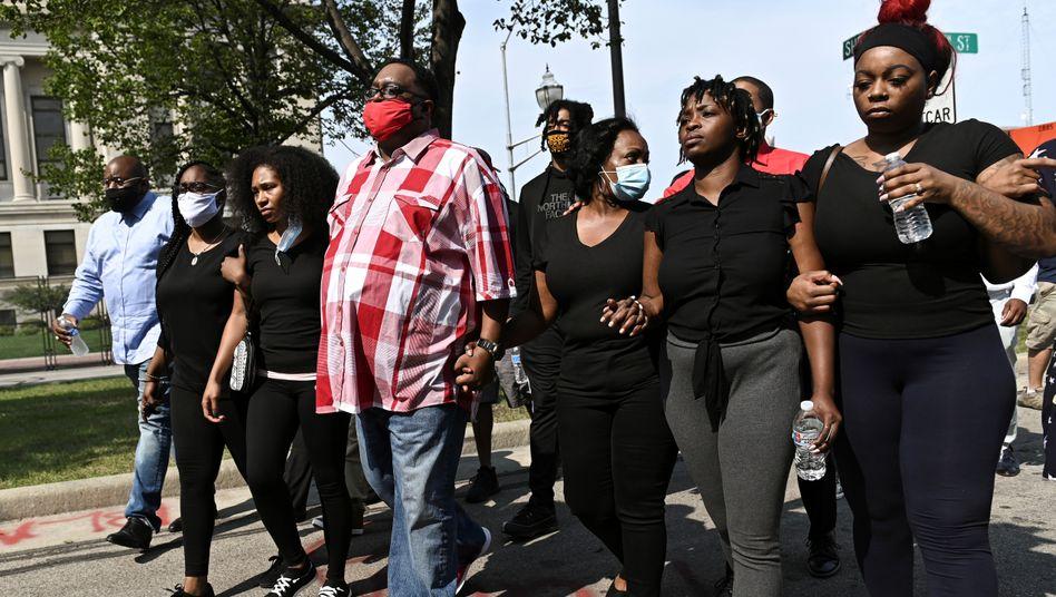 Familie des von der Polizei angeschossenen Jacob Blake