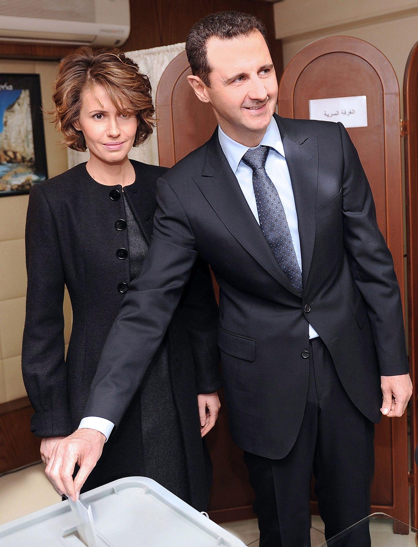 Arabische Ehefrauen / Asma al-Assad / Bashar