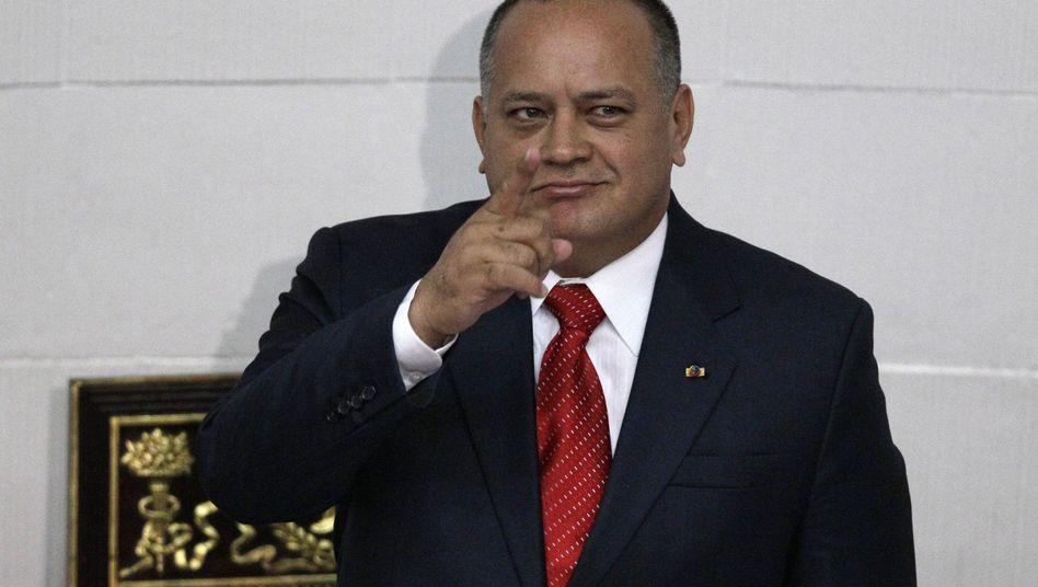 """Parlamentspräsident Cabello: """"Unser Gewissen ist rein"""""""