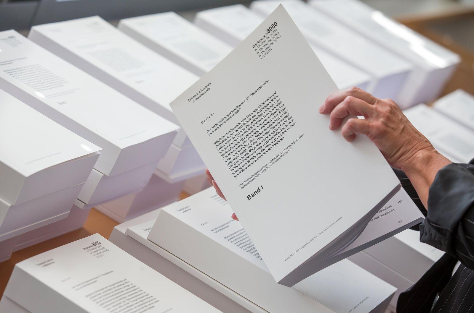NSU-Abschlussbericht übergeben