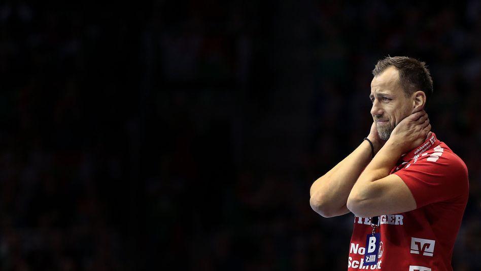 Trainer Maik Machulla verlor mit der SG Flensburg-Handewitt bereits das fünfte Saisonspiel
