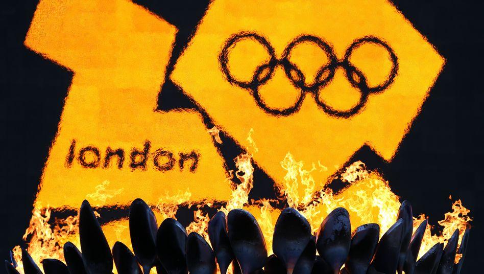 Logo der Olympischen Spiele 2012